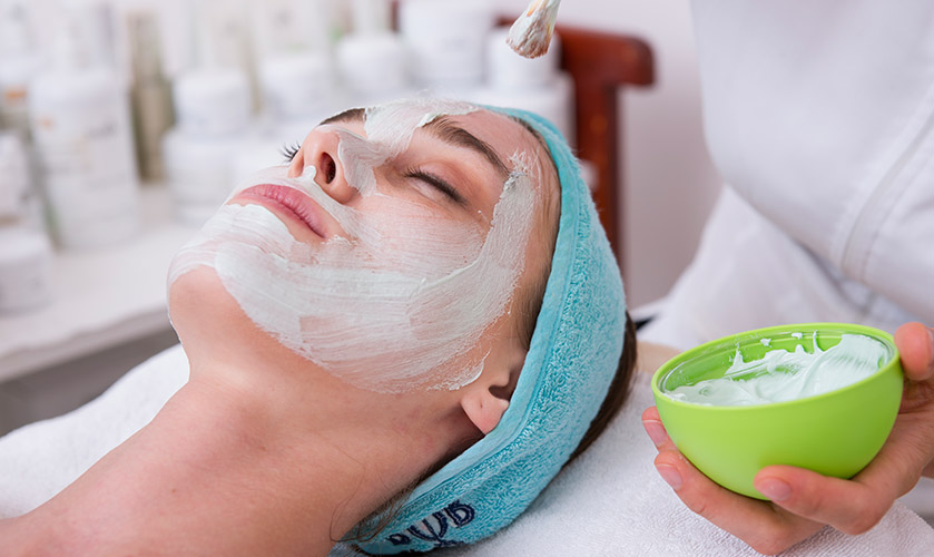 New type of mask for skin in our beauty